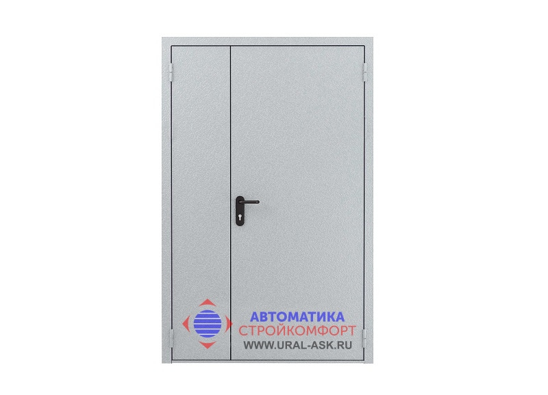 дверь противопожарная металлическая двупольная цена розница